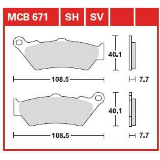 MCB671SH