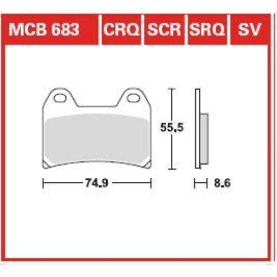 MCB683SCR