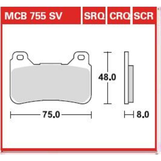 MCB755SCR