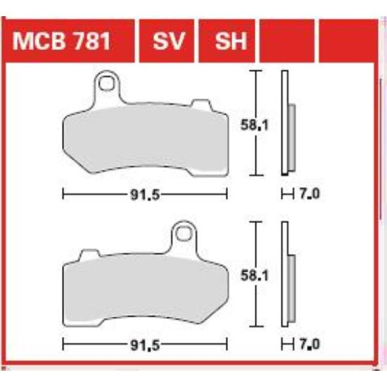 MCB781SH