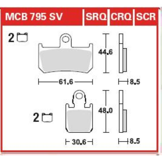 MCB795SRQ