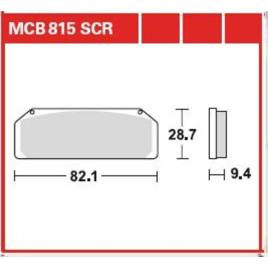 MCB815SCR