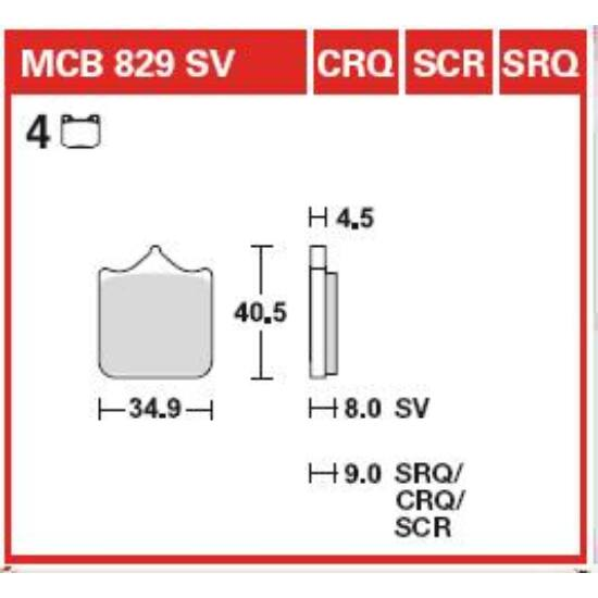 MCB829SV