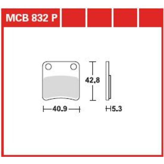 MCB832P
