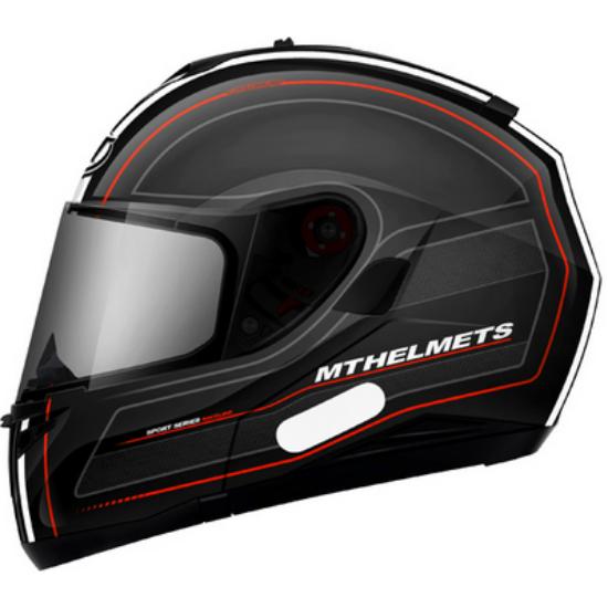 MT Optimus SV Raceline fekete-piros