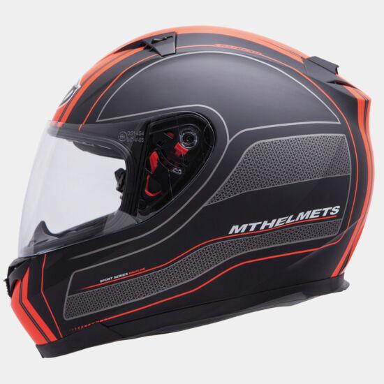 MT Blade SV Raceline matt fekete - narancs