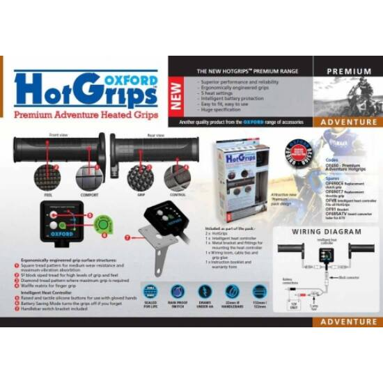 Hot Grips Adventure 690